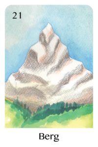 Der Berg als Tageskarte