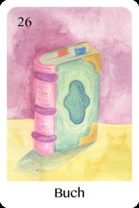 Das Buch als Tageskarte