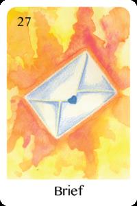 Der Brief als Tageskarte