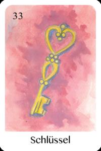 Der Schlüssel als Tageskarte